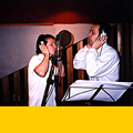 "Recording ""Azure"" - Louis with Ken Brake, 1999"